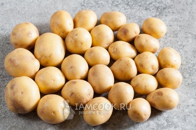 Помыть картофель