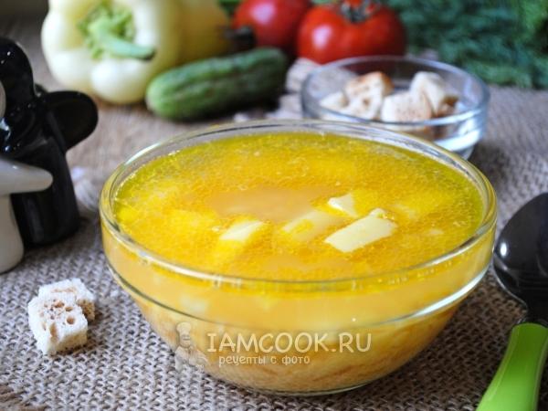 Sup Ayam Pea (Resep Klasik) - Resep dengan Foto Langkah demi Langkah