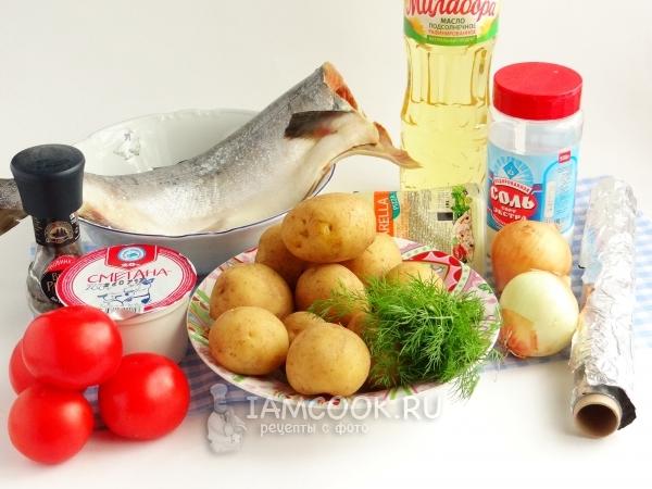 Сколько печь горбушу с картошкой в духовке. Горбуша запеченная в духовке с картошкой и сыром