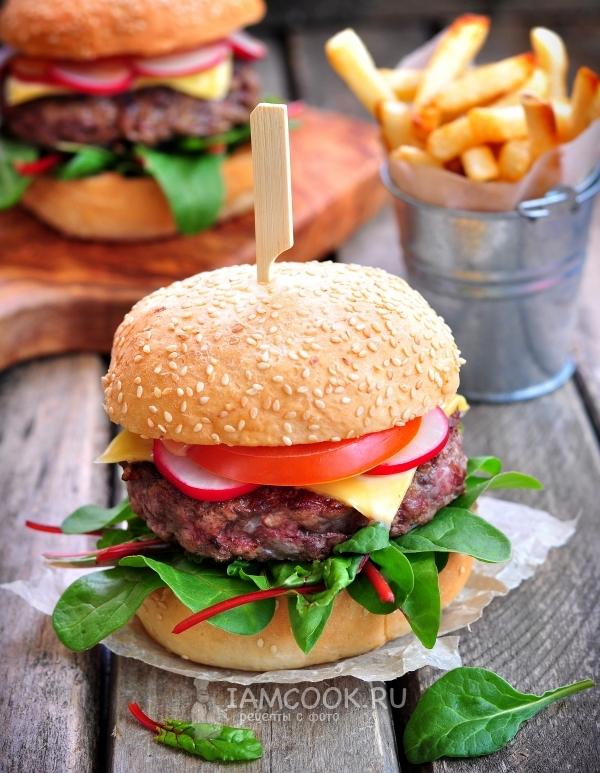 вешаете гамбургер в домашних условиях рецепт фото пошагово подойдет для