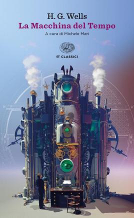 La macchina del tempo - Herbert George Wells - copertina