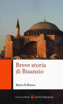 Breve storia di Bisanzio - Marco Di Branco - copertina