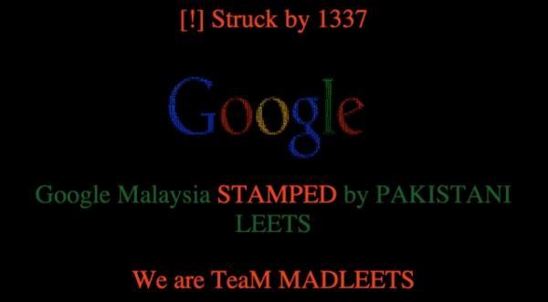 Google da Malásia cai por causa de ataque DNS de grupo hacker