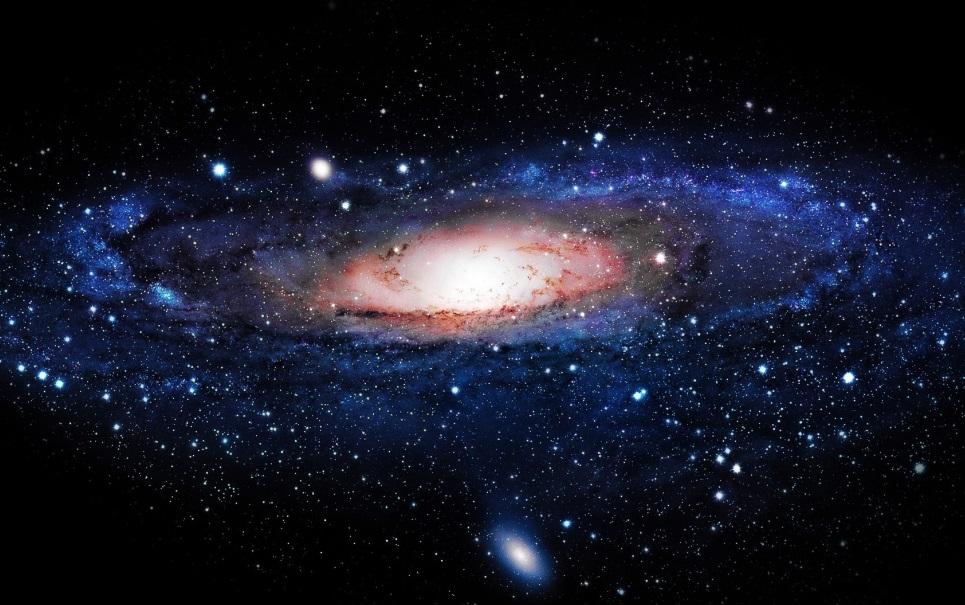Você sabia que a Via Láctea se move como uma bandeira tremulando ao vento?