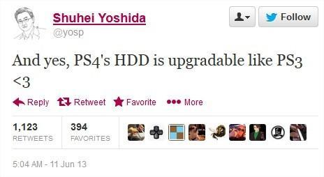 Disco rígido do PlayStation 4 pode ser substituído pelo usuário