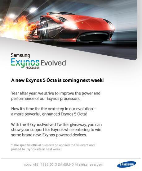 Samsung Exynos 5 Octa-core de 2ª geração será apresentado na próxima semana