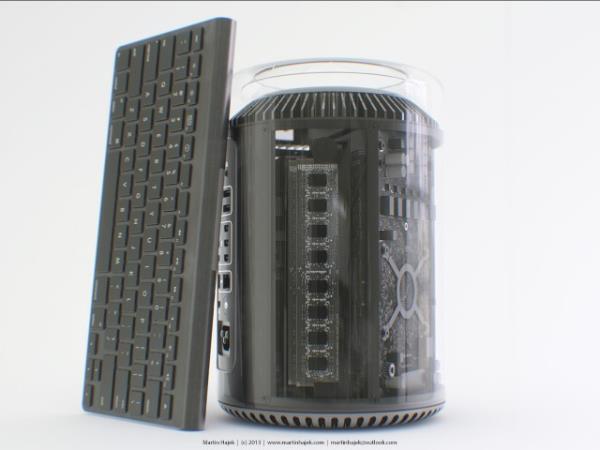 Conceito coloca novo Mac Pro em belíssimas estruturas de vidro