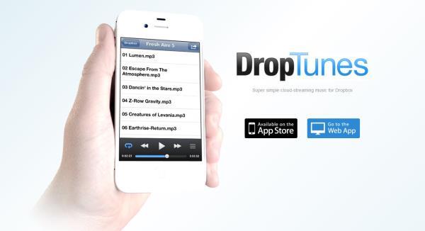 Como escutar músicas direto de uma pasta do Dropbox