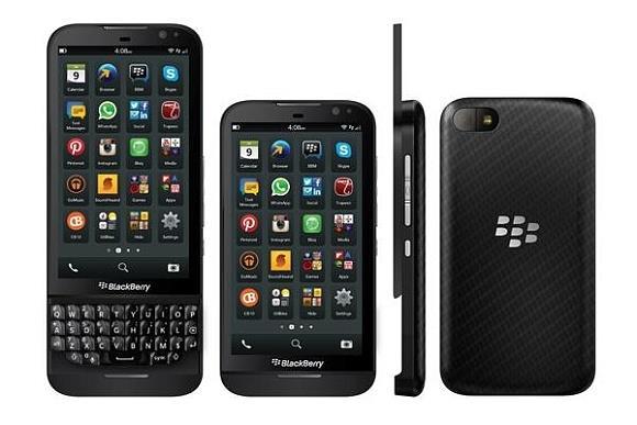 Vazam imagens do BlackBerry Z30 e do Z15
