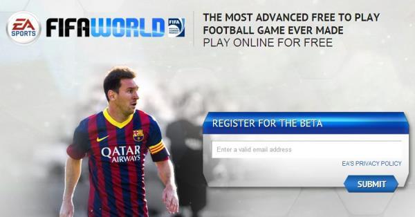 Cadastros para jogar FIFA World gratuitamente já estão abertos