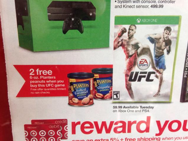 EA Sports UFC Vendido Junto A Latas De Amendoim Em Oferta Esquisita TecMundo Games