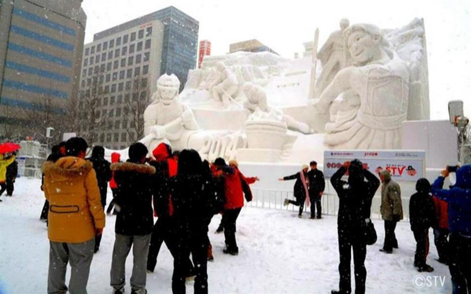Confira as esculturas mais legais do Festival da Neve no Japão [galeria]