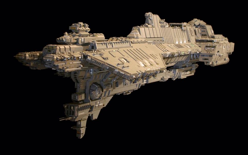 Fã constrói nave de Halo superdetalhada com milhares de pecinhas de LEGO