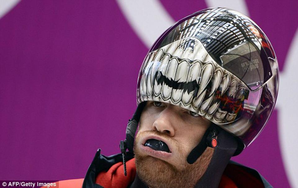 Os capacetes mais legais dos Jogos Olímpicos de Inverno de Sochi [galeria]