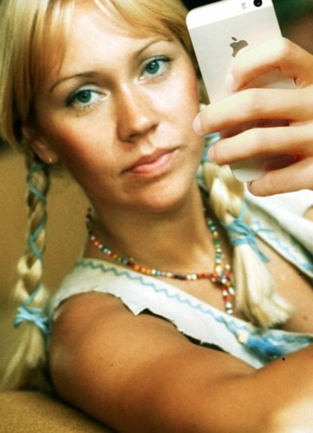 Agnetha Fältskog fez sucesso na década de 1970 com a banda de música pop ABBA.