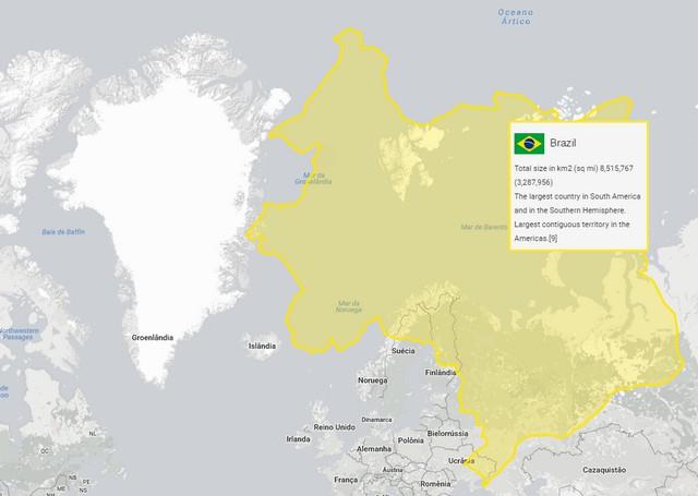 Brasil e Groenlândia