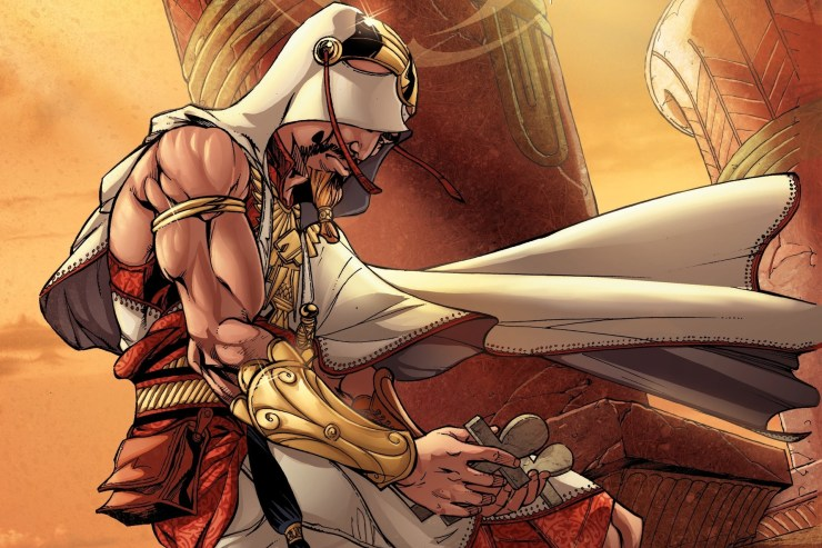 Nos quadrinhos, o universo de Assassin's Creed já explorou o Egito com Jonathan Hawk