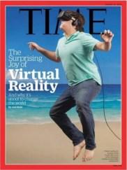 Uma capa da revista TIME.