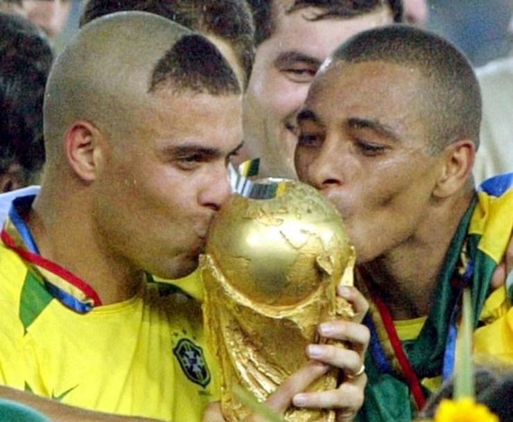 Brasil con la Copa del Mundo
