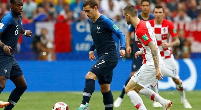 Francia y Croacia