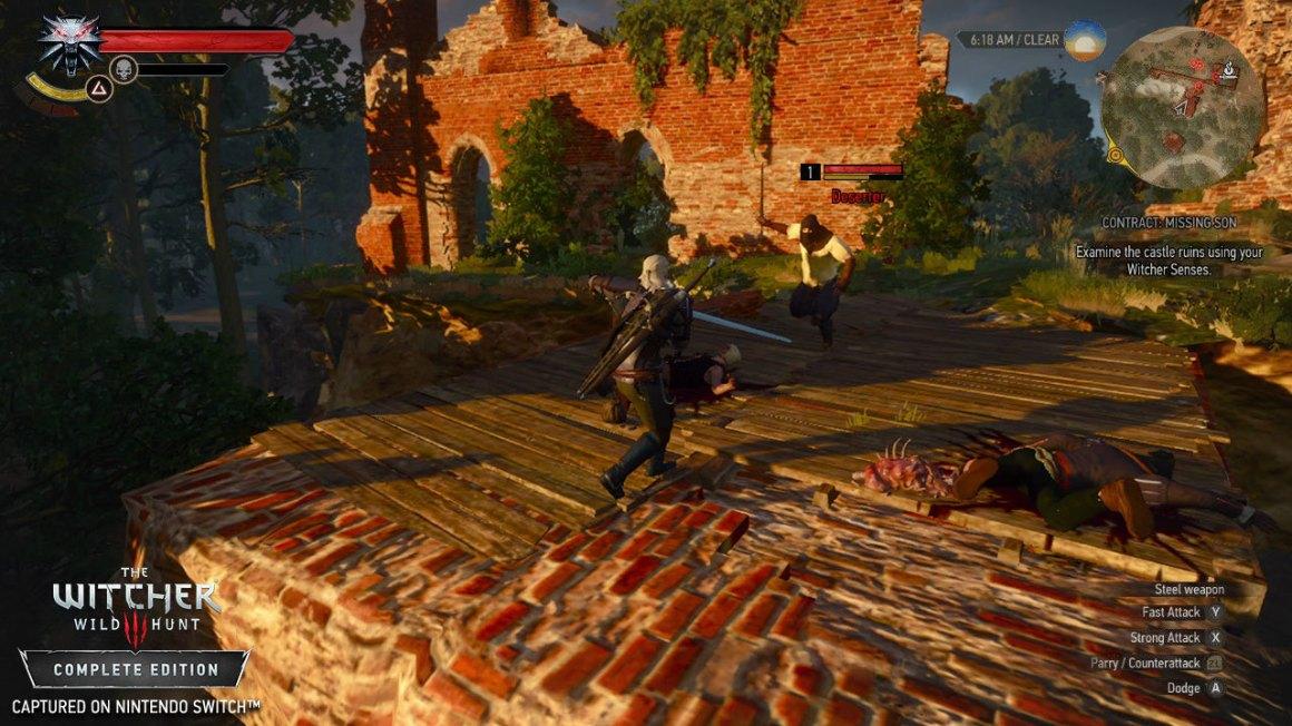 The Witcher 3 ganha novas screenshots no Switch – e está bem bonito