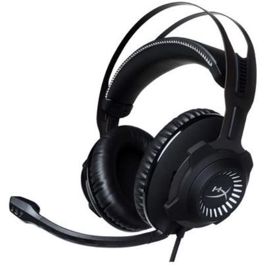 Imagem: Headset com Microfone HyperX Cloud Revolver