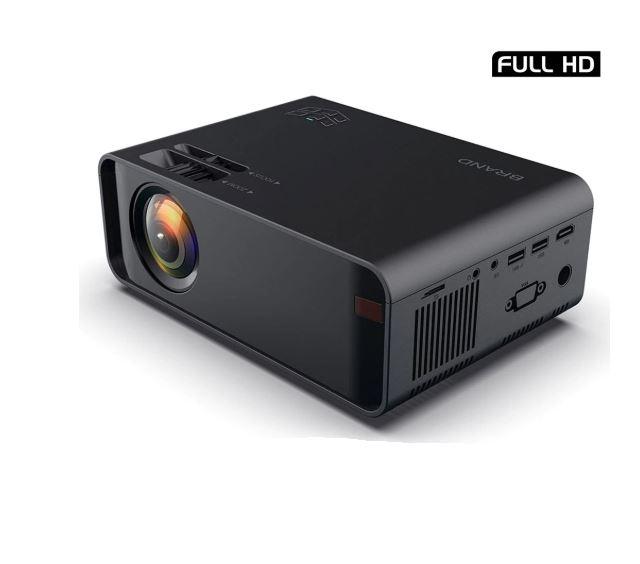Imagem: Projetor HD 3000 lumens, Unic w80