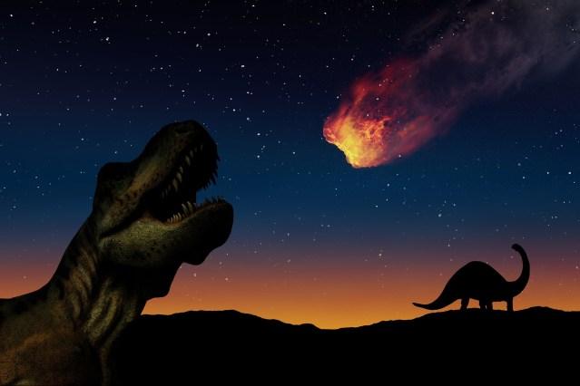 Extinção dos dinossauros foi o quinto evento em massa a dizimar populações na Terra.