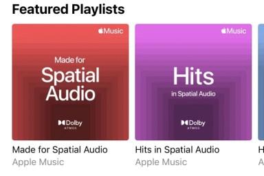 Apple Music libera 'Áudio Espacial' e reprodução Lossless