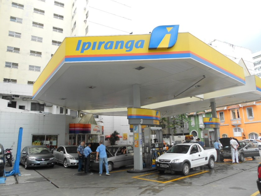 Posto Ipiranga offers a 4% discount on the price of fuel for Uber drivers.  (Source: Wikipedia/Reproduction)