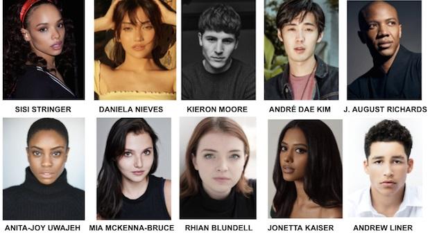 The cast of Vampire Academy