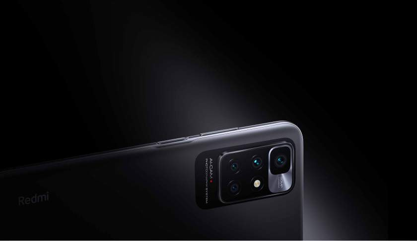 The rear cameras are arranged in a large rectangle similar to the Mi 10 Ultra