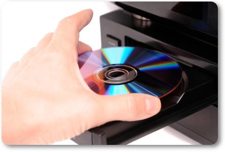 Crie uma imagem a partir do CD
