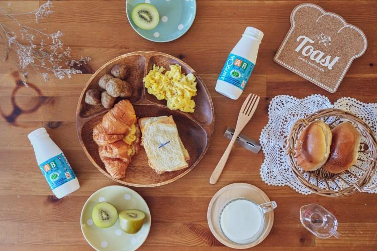 受保護的內容: 我們早餐桌上的固定班底,美食部落客大魚大肉的秘密武器|AB原味優酪乳