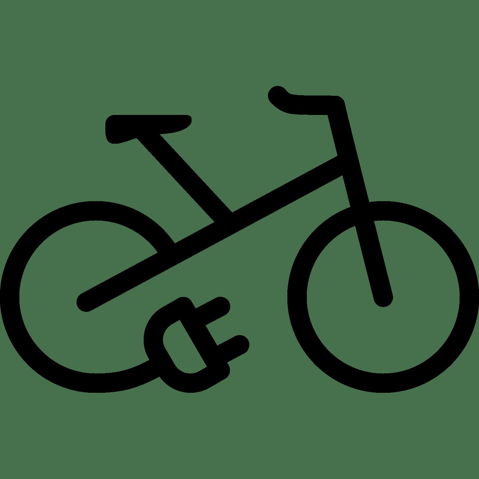 Electric Bike Icon