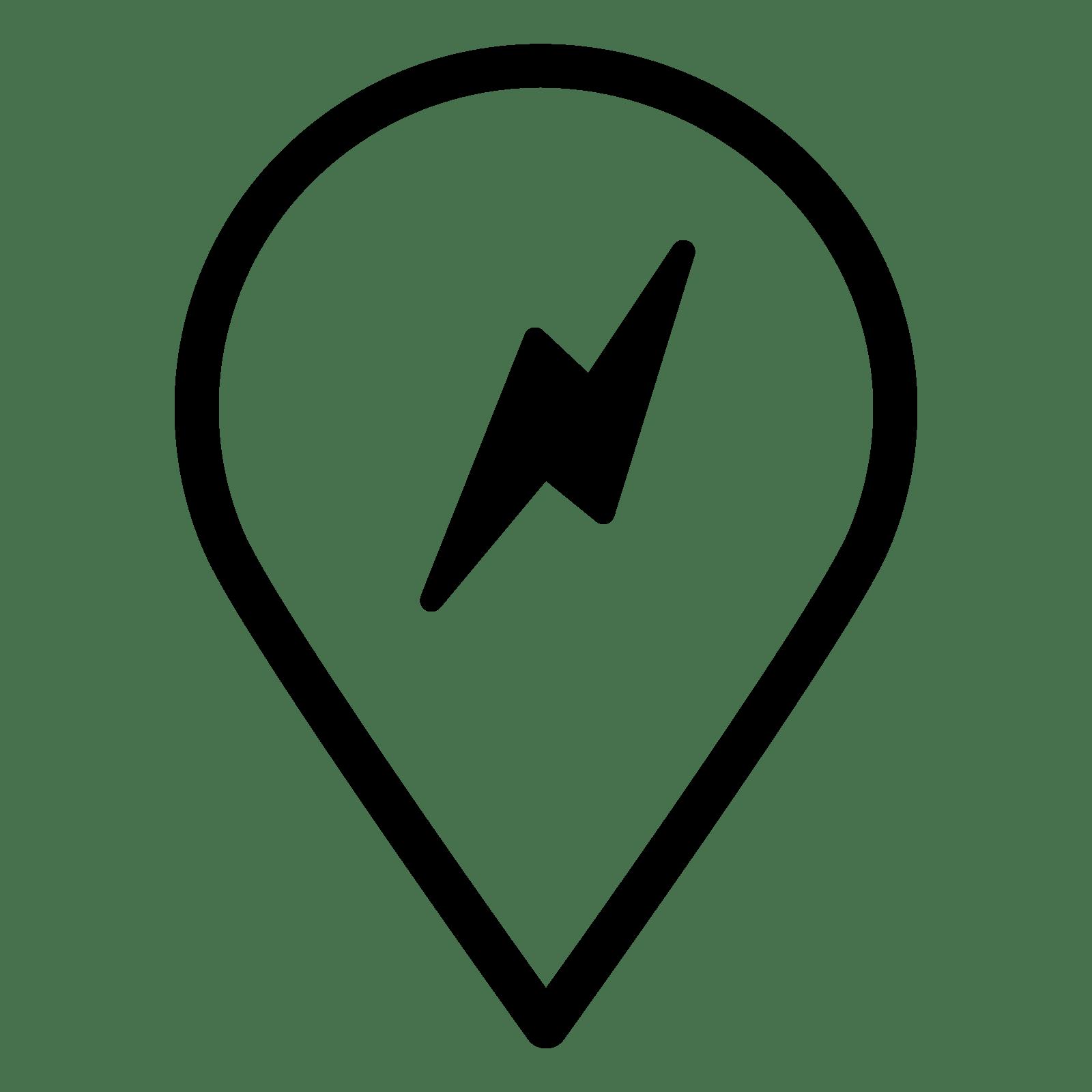Symbol Fur Tesla Ladestation Icon