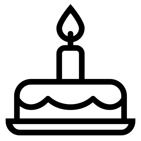 Gateau D Anniversaire Icone