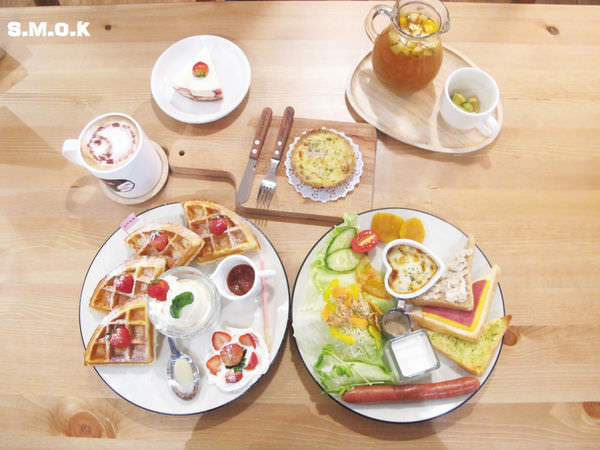 """『南投草屯 _ 幸福童漾smok cafe&shop』一個讓你體會到""""溫度""""的小店,精緻的餐點,讓你沉浸整個下午"""