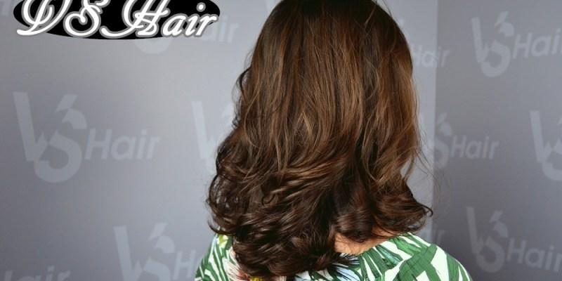 逢甲髮廊_VS.Hair│台中髮廊推薦,亮麗有型的蓬鬆捲髮,打造夏日專屬style。