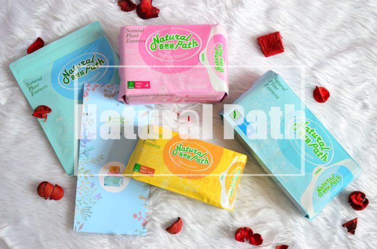 衛生棉推薦!_Natural Path 自然好│台灣製造,天然草本漢方的涼感衛生棉~網路評價好!