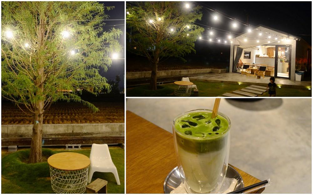 田中咖啡館_小田生活mmm│在田中的田中央喝咖啡!夜晚的燈光更為迷人~