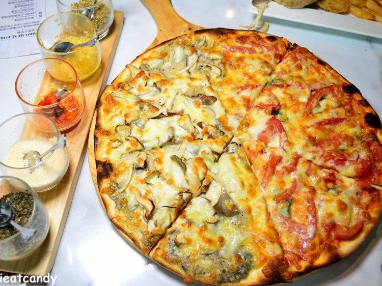 員林美食_Milano米蘭街義式小館-員林店│餐點、醬汁皆手工製作!七種麵條任你搭配,燉飯也好好吃~