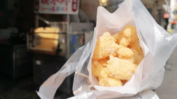 彰化美食_古月糯米炸│彰化在地超熱門小吃,Q彈口感被花生粉包裹住的古早味小點。