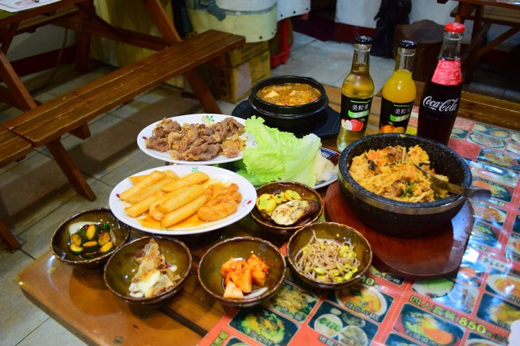 韓風韓式料理│鹿港韓式料理、鹿港老街、第一市場附近美食,擁有家常氛圍的韓式料理店。