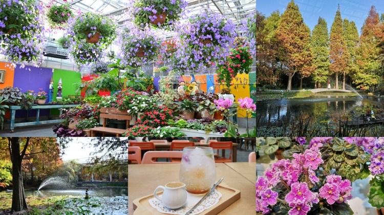 菁芳園│田尾景點,彰化打卡景點!一年四季全在這花園內欣賞得到~