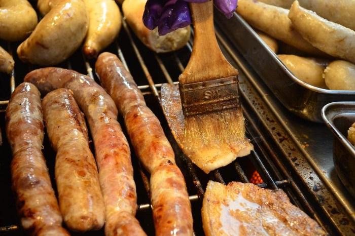 鹿港第一市場美食 供腸老闆