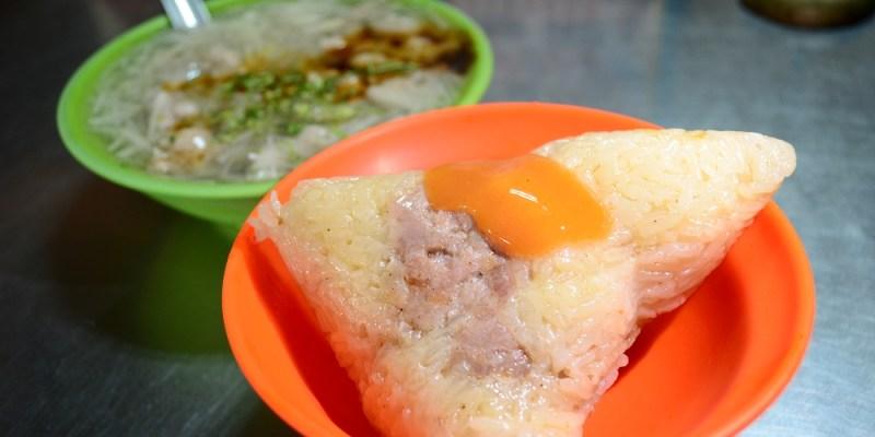 廟口肉粽、肉粳│鹿港肉粽、鹿港小吃推薦,竹筍肉羹超受歡迎!慢來可搶不到!