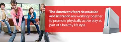 American Heart Association Partners With Nintendo On Fitness