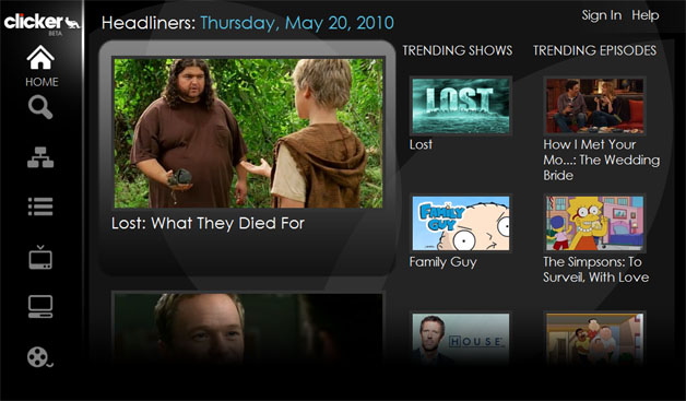 Online TV Guide Turns Heads At Google I/O