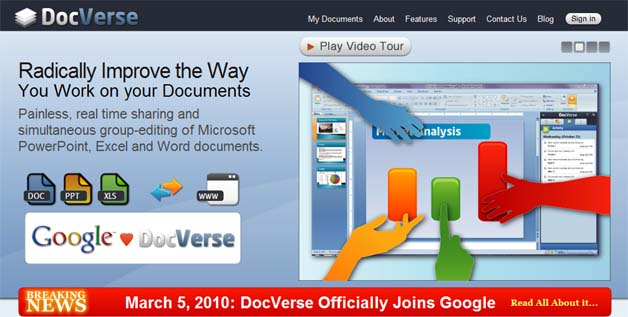Google Acquires DocVerse, Takes Aim At MS Office